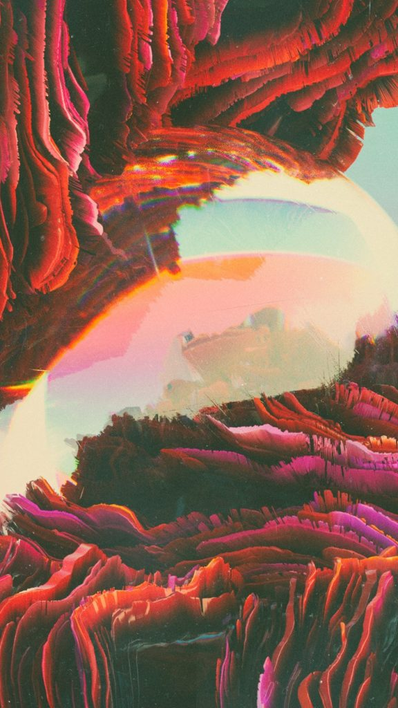 Beeple Crap Futuristic iPhone Wallpaper