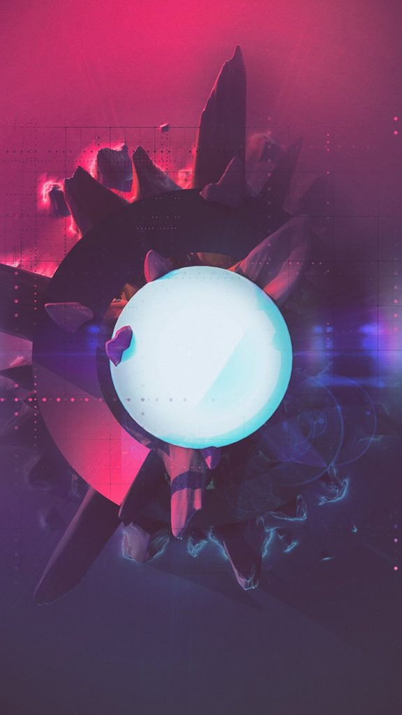 Beeple Futuristic iPhone Wallpaper