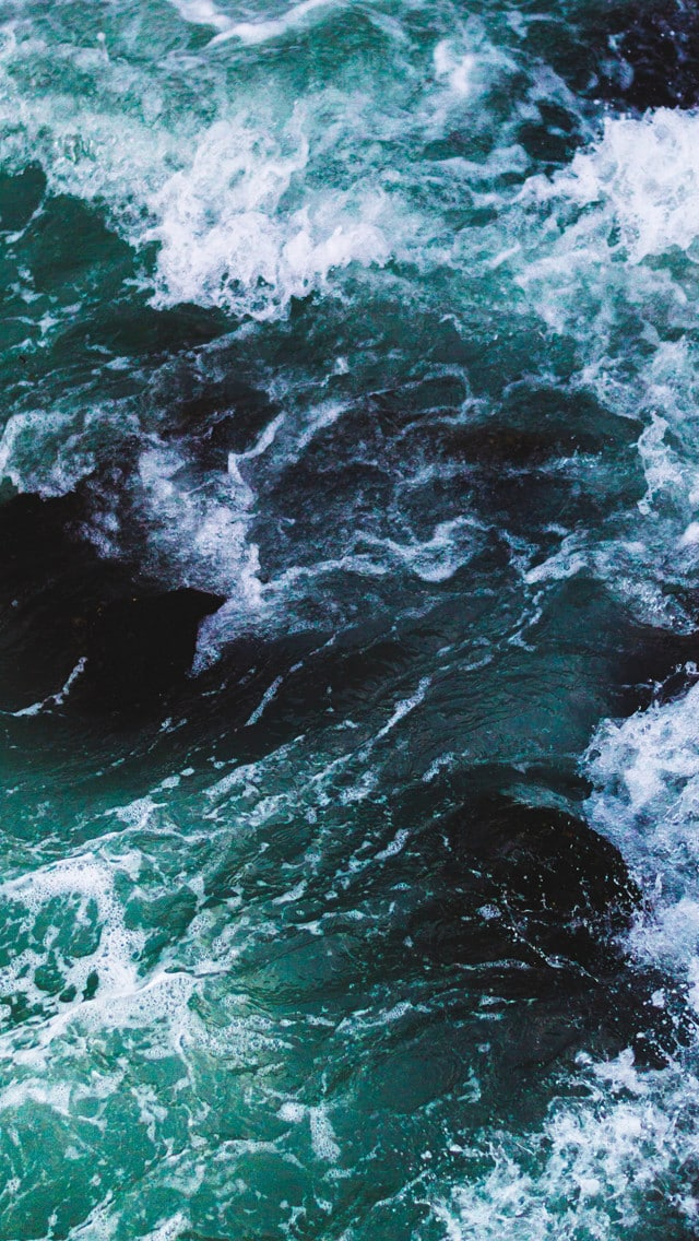 5 beautiful wave texture iphone 5 wallpapers hipsthetic - Wave pics wallpaper ...