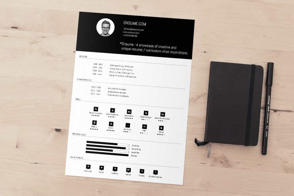 free template resumes