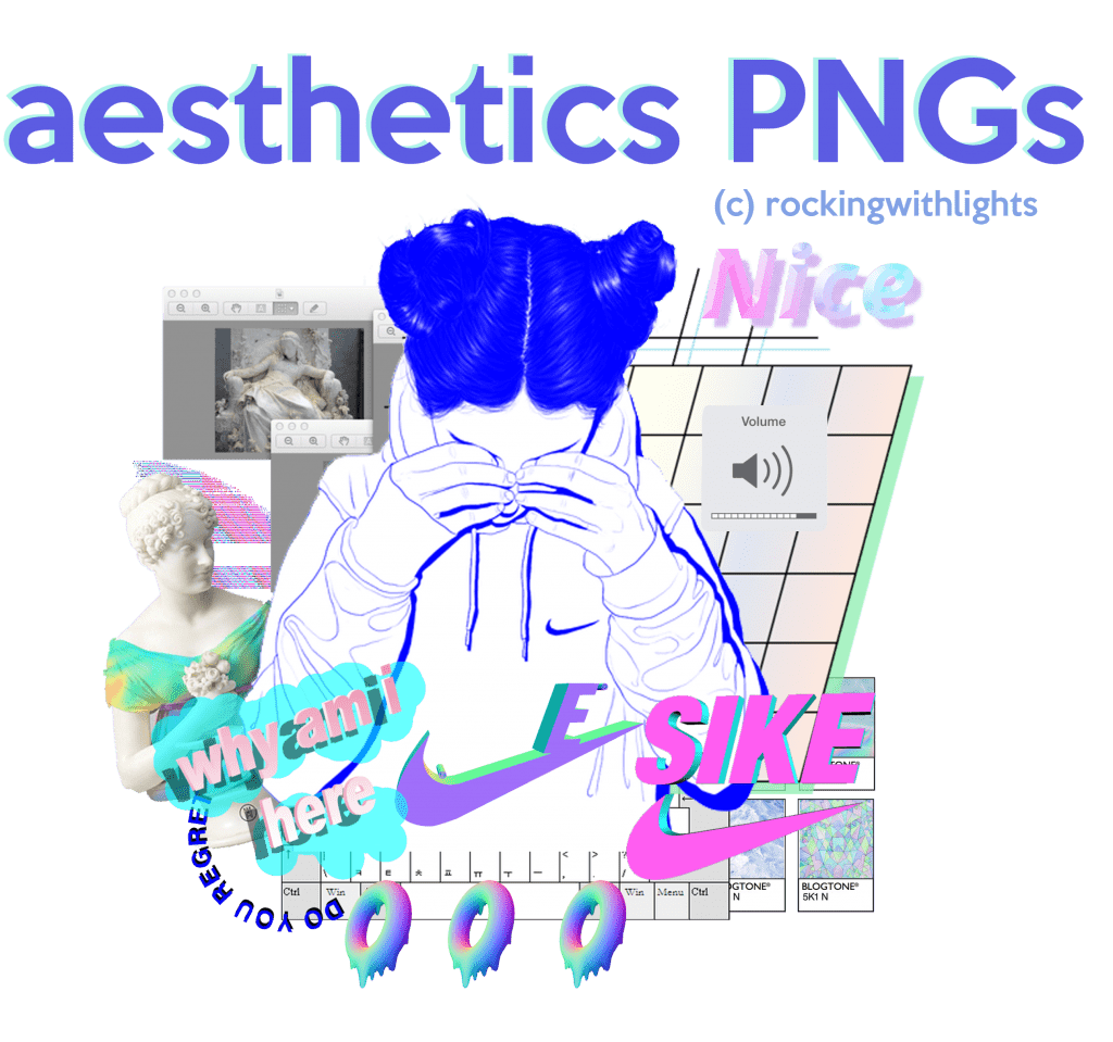 21  free aesthetic png packs