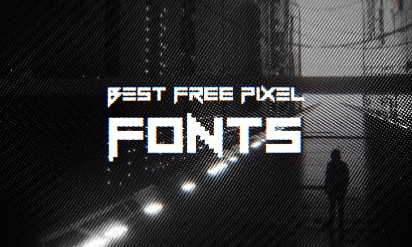 30 Best Free Pixel Fonts Hipsthetic