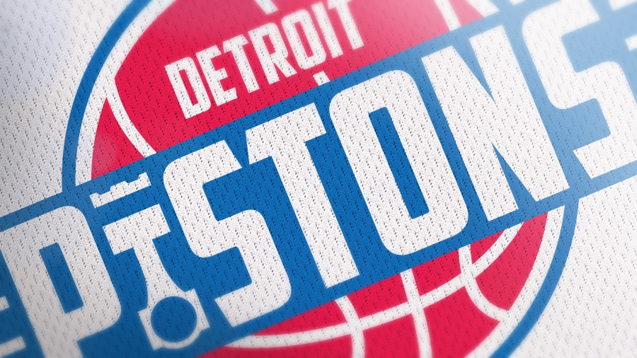 Addison Foote Detroit Pistons NBA Logo Redesign Mock-Up