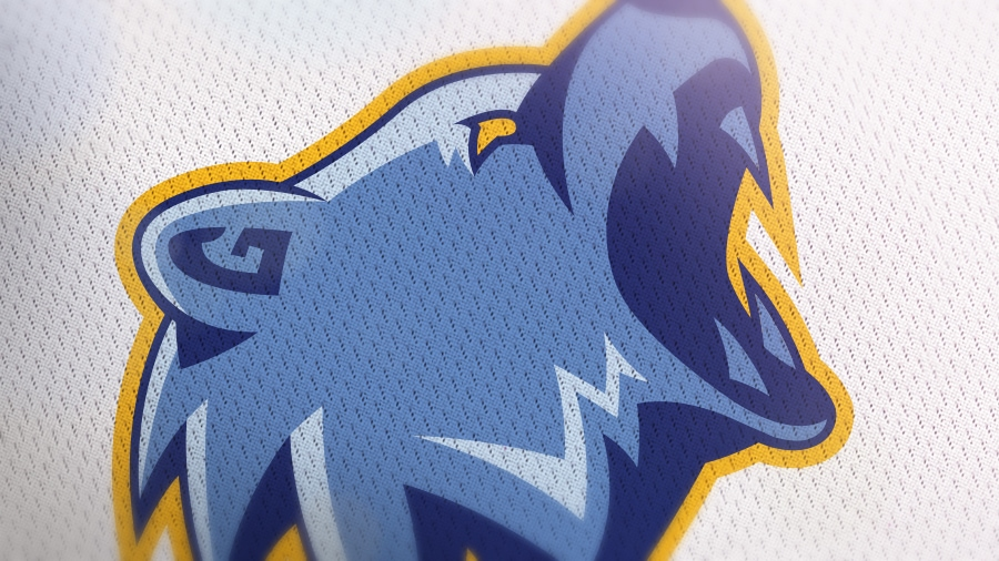 Addison Foote Memphis Grizzlies NBA Logo Redesign Mock-Up