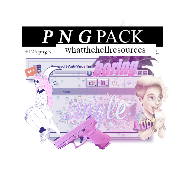 PNG Pack by WhatTheHellResources
