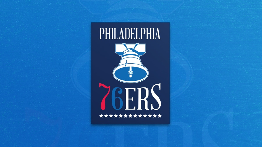 Addison Foote Philadelphia 76ers NBA Logo Redesign