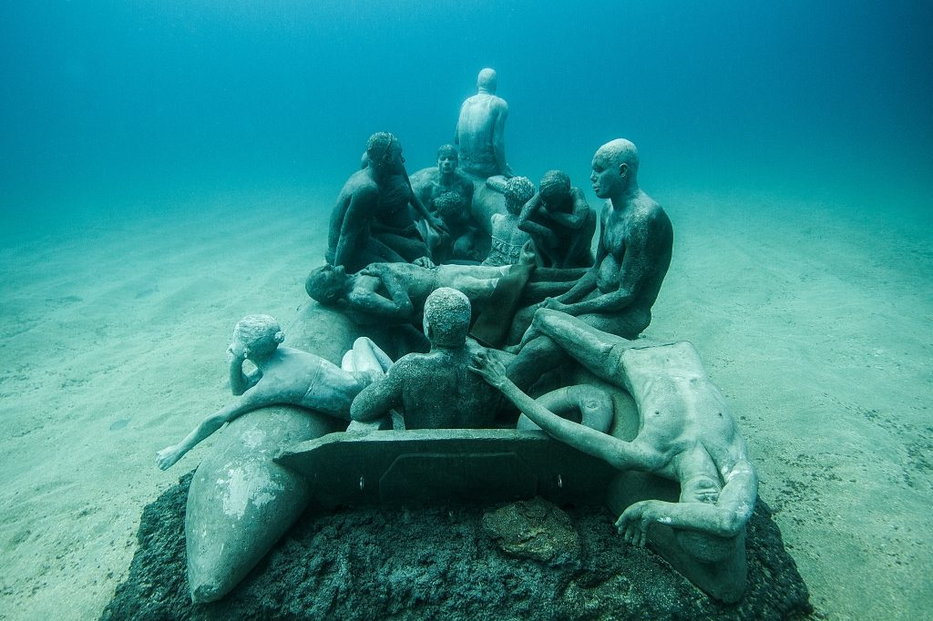 Museo Atlantico Jason deCaires Taylor Underwater Museum