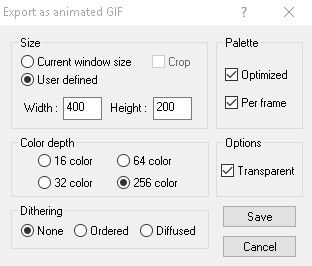 Xara 3D Maker 7 Export As Animated GIF