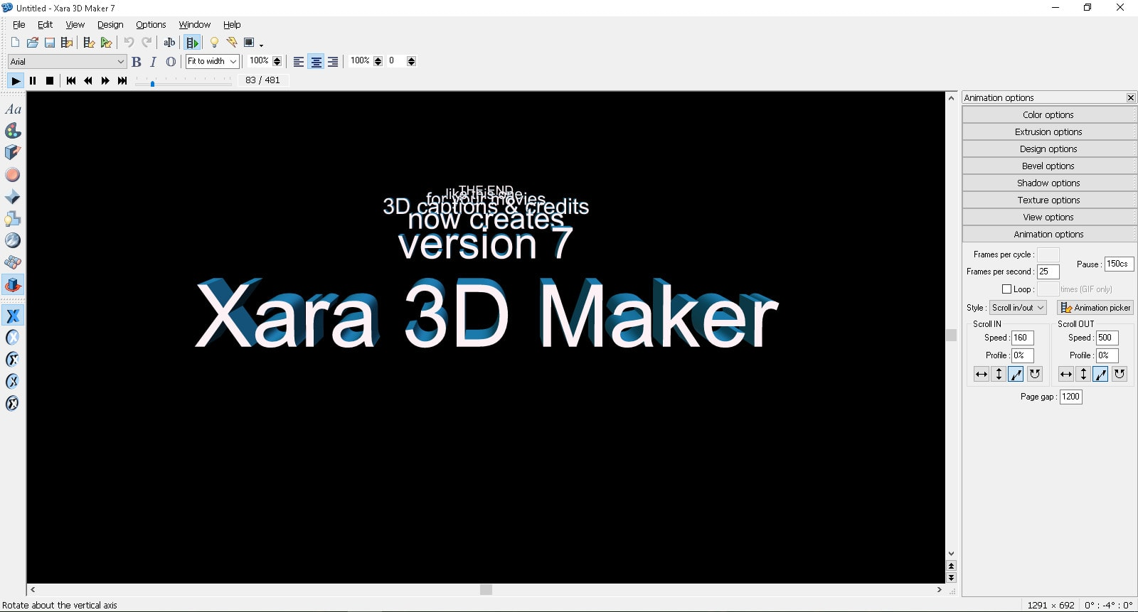 Xarad 3D Maker 7 New File