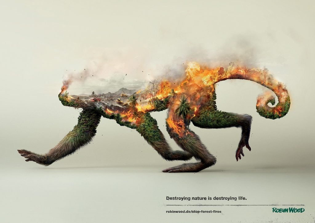Destroying Nature Is Destoying Life Series