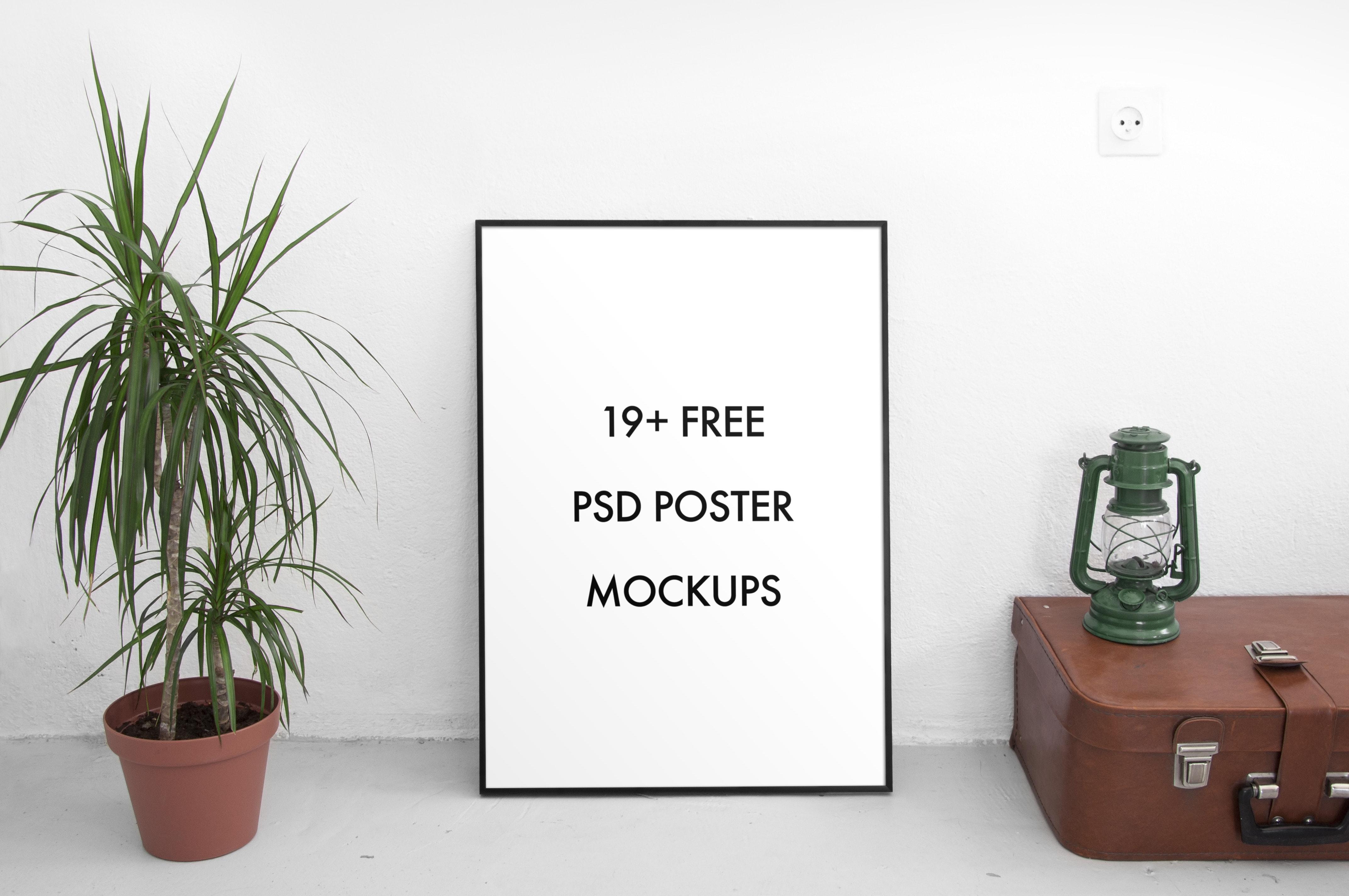Free PSD Poster Mockups