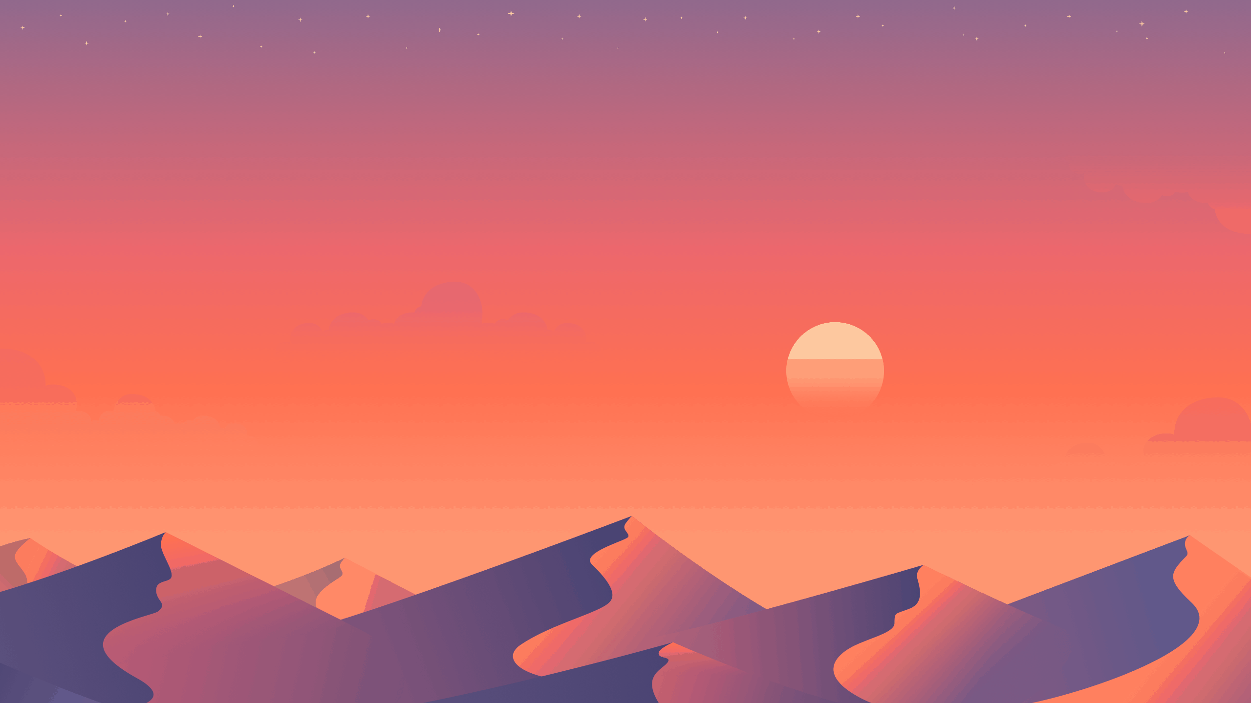 free multidevice desert dusk wallpapers hipsthetic