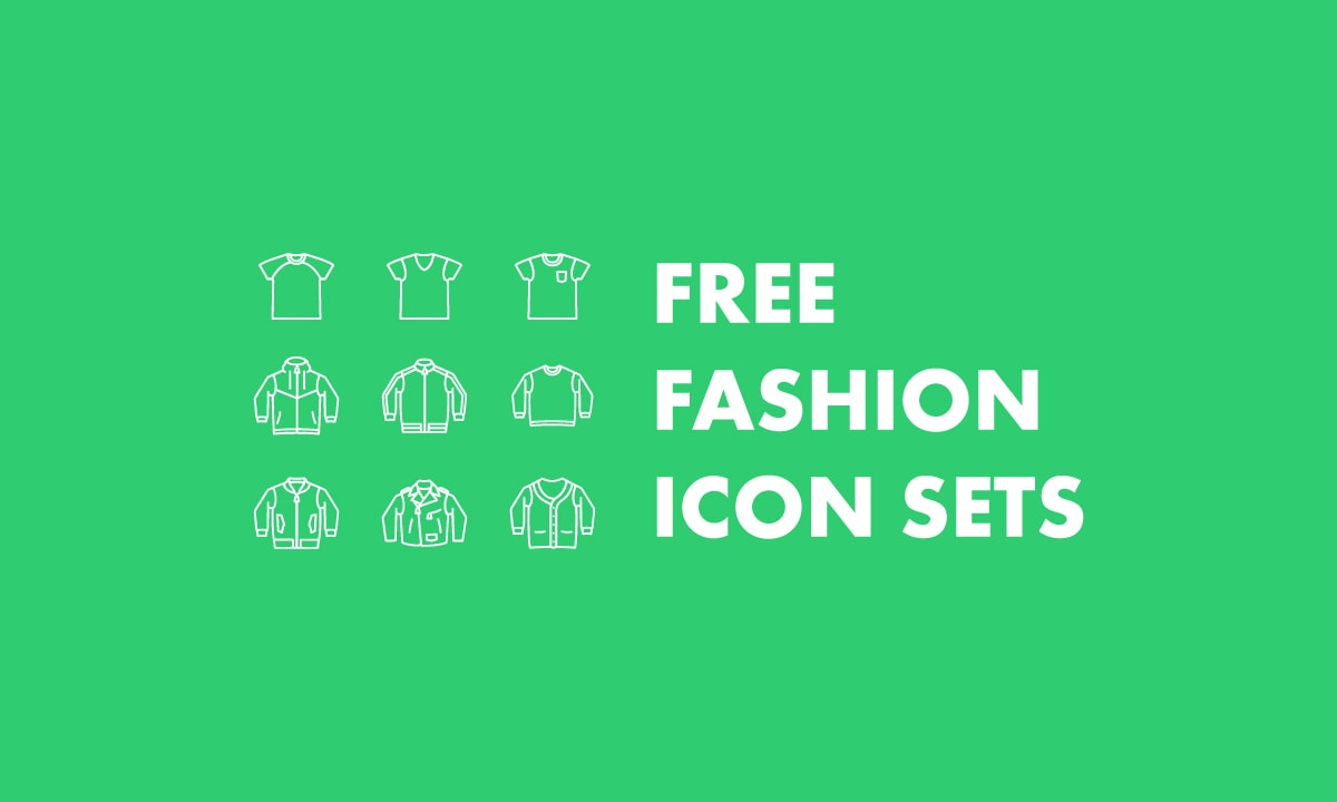Free Fashion Vector Icon Sets