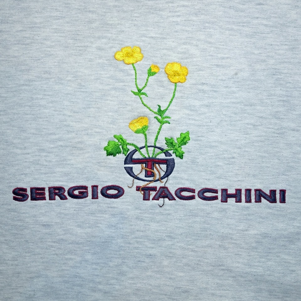 James Merry Embroidery - Sergio Tacchini