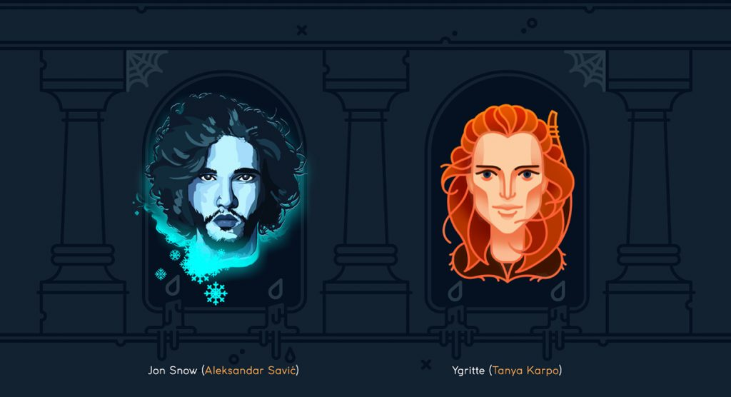 Jon Snow and Ygritte - Game of Thrones