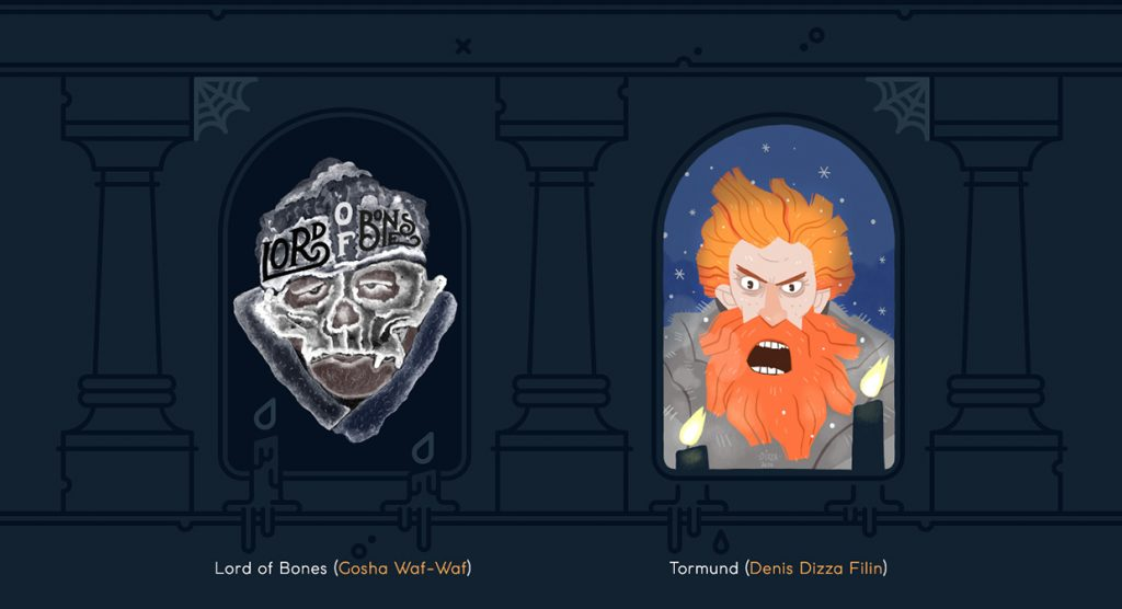 Lord of Bones and Tormund - Game of Thrones