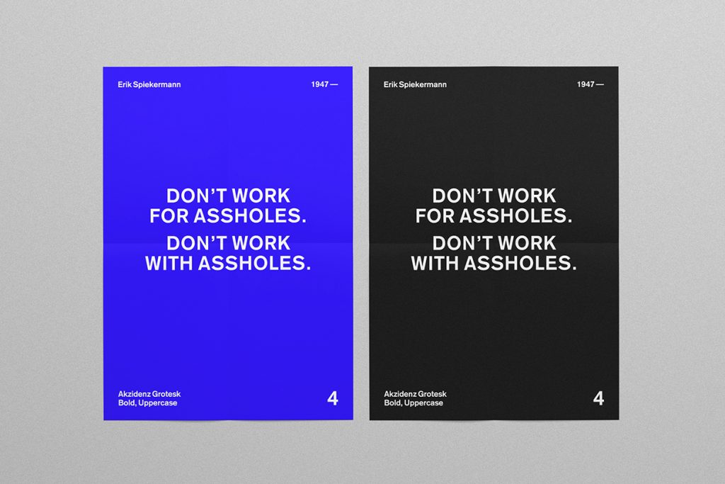 Motivational Typographic Posters By Daniel Barkle