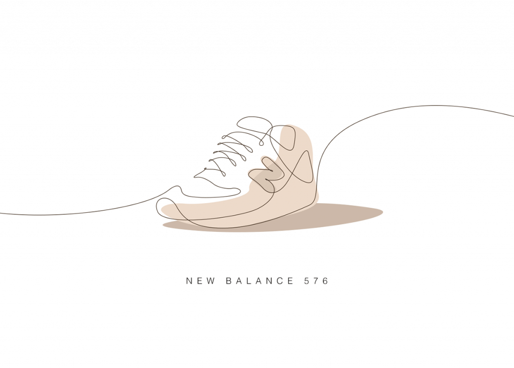 New Balance 576 - Memorable Sneakers