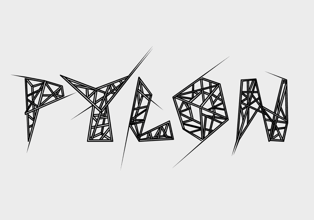 Pylon - Free Triangular Font
