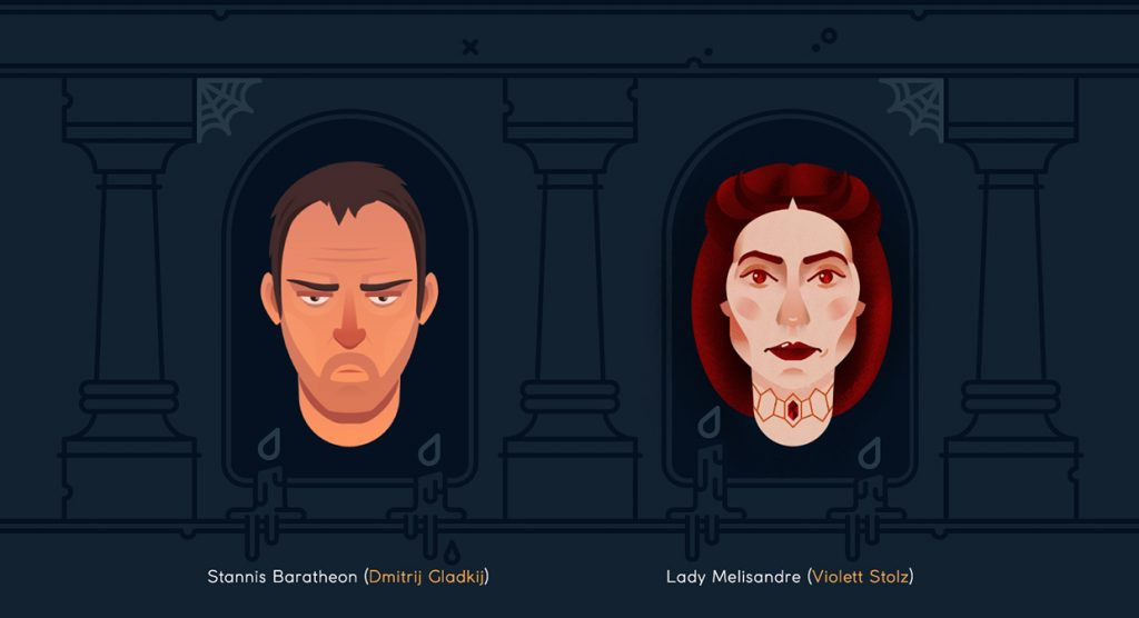 Stannis and Melisandre - Game of Thrones