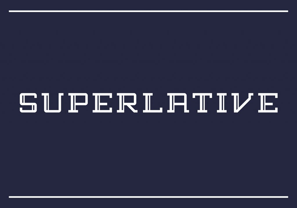 Superlative - Free Slab Serif Font