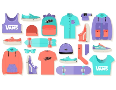 Vans - Free Vector Icon Set