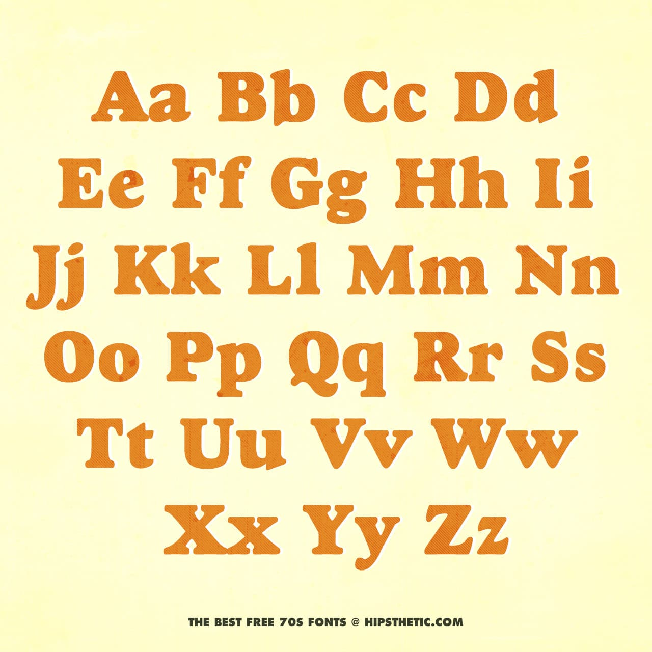 Goudy Heavyface - Free 1970s Font