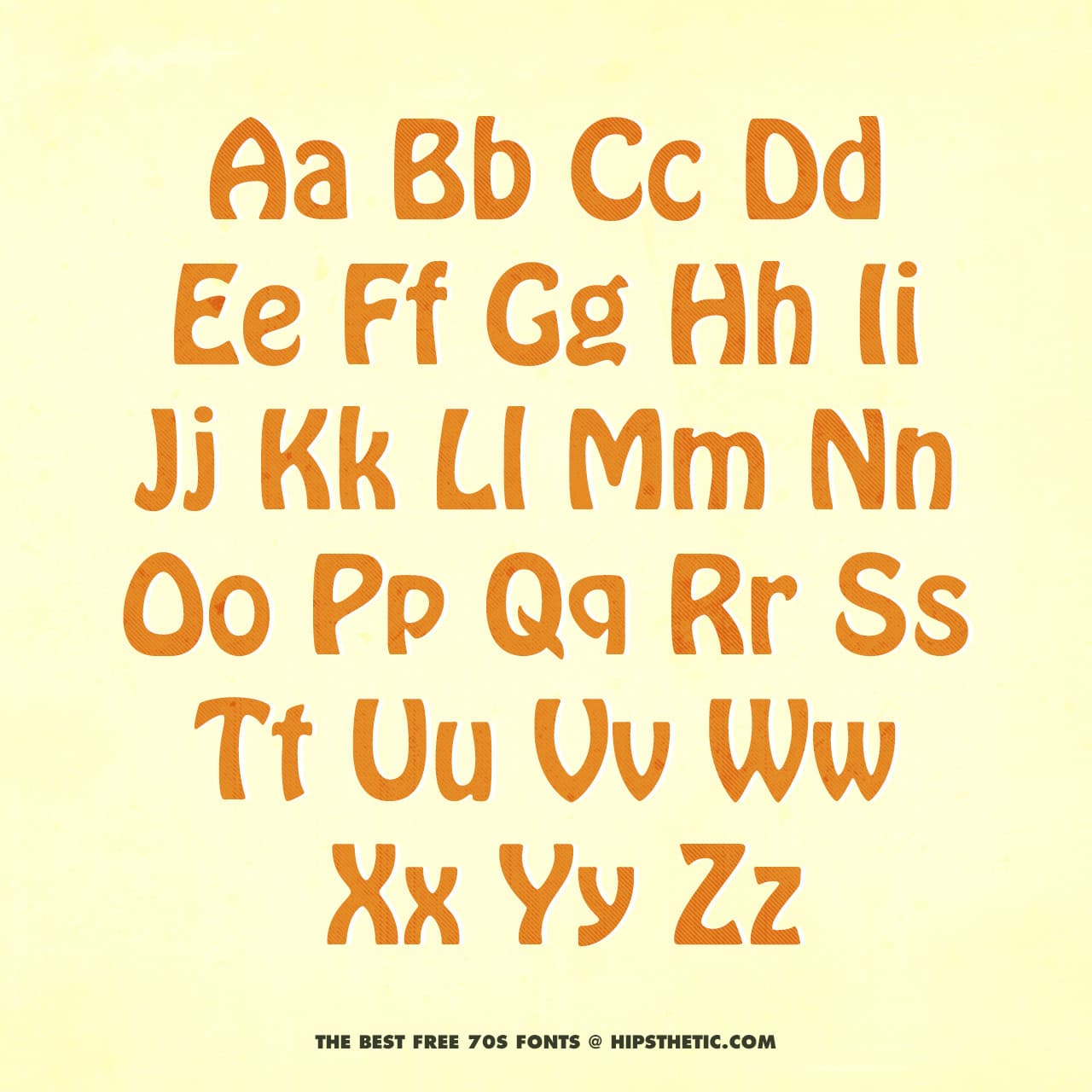 Hobo - Free 1970s Font