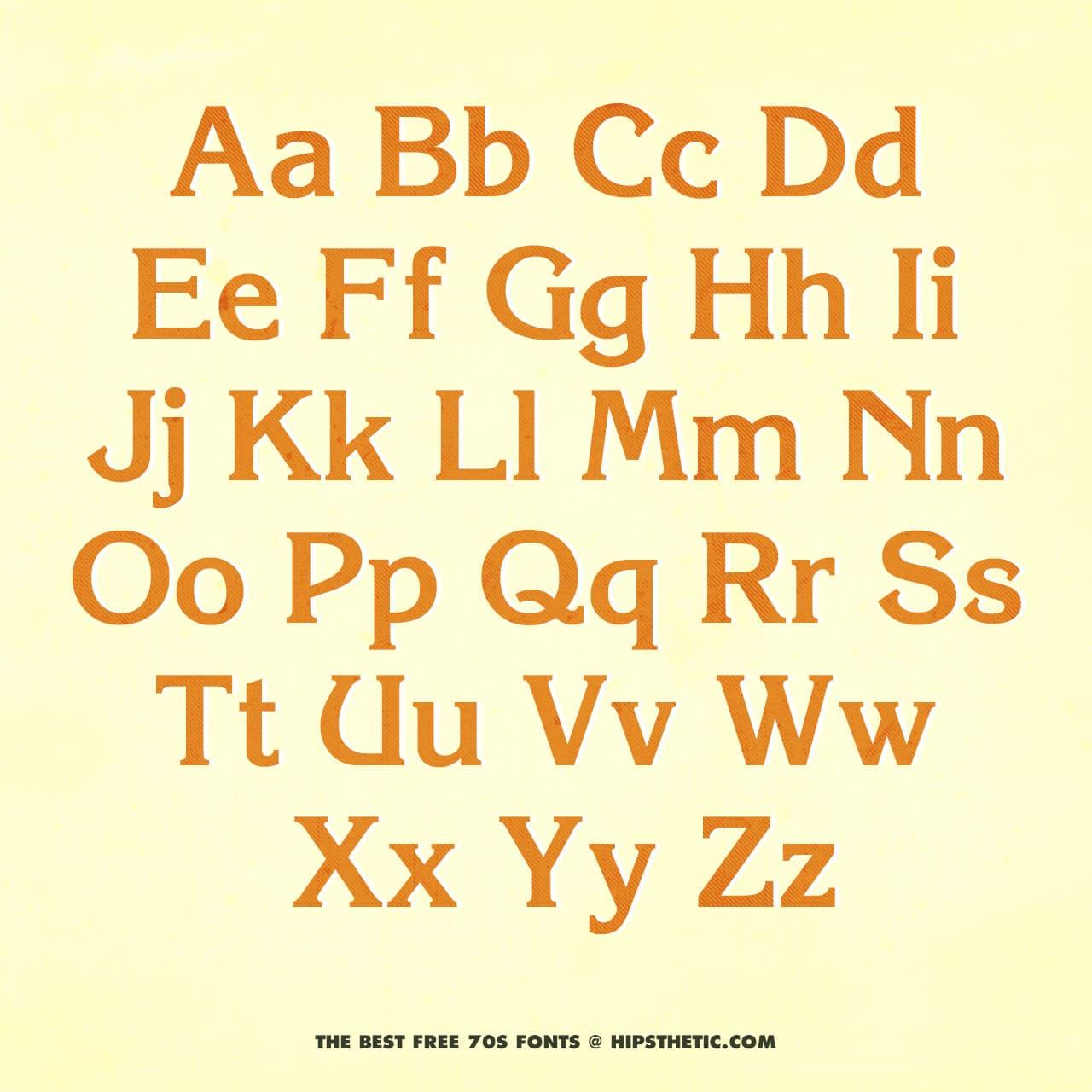 Korinna - Free 1970s Font