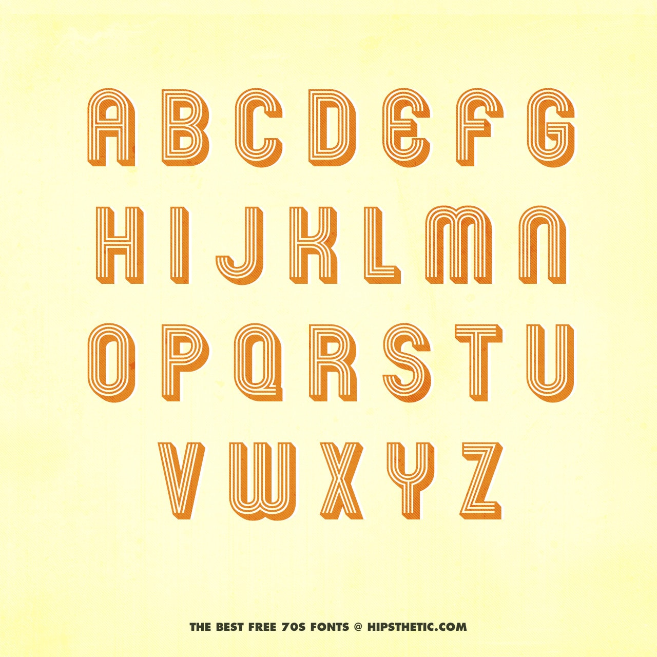 The 12+ Best Free 70s Fonts - Hipsthetic