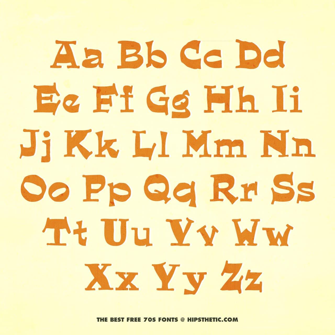 Quaint - Free 1970s Font