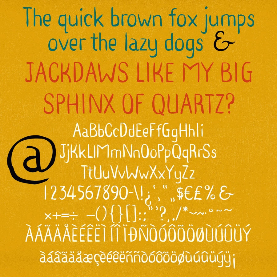 Quinkbrush - Ink Pen Font