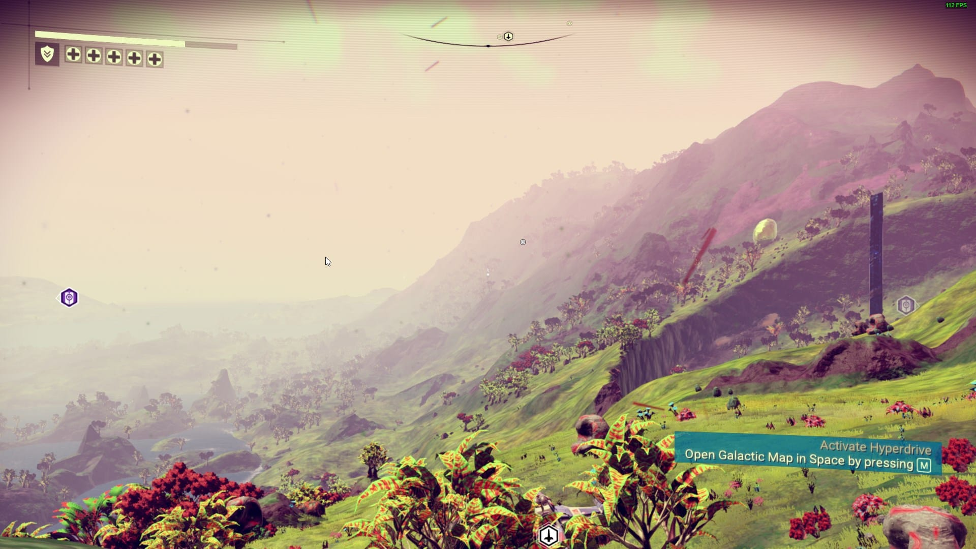 No Mans Sky - Mountain Lake Screenshot