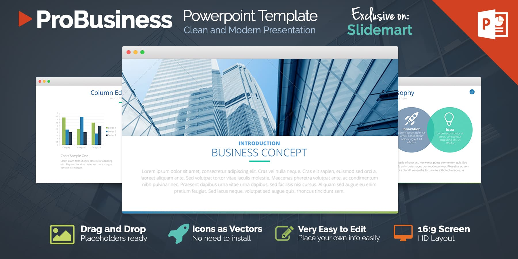 Free Professional Business Powerpoint Template