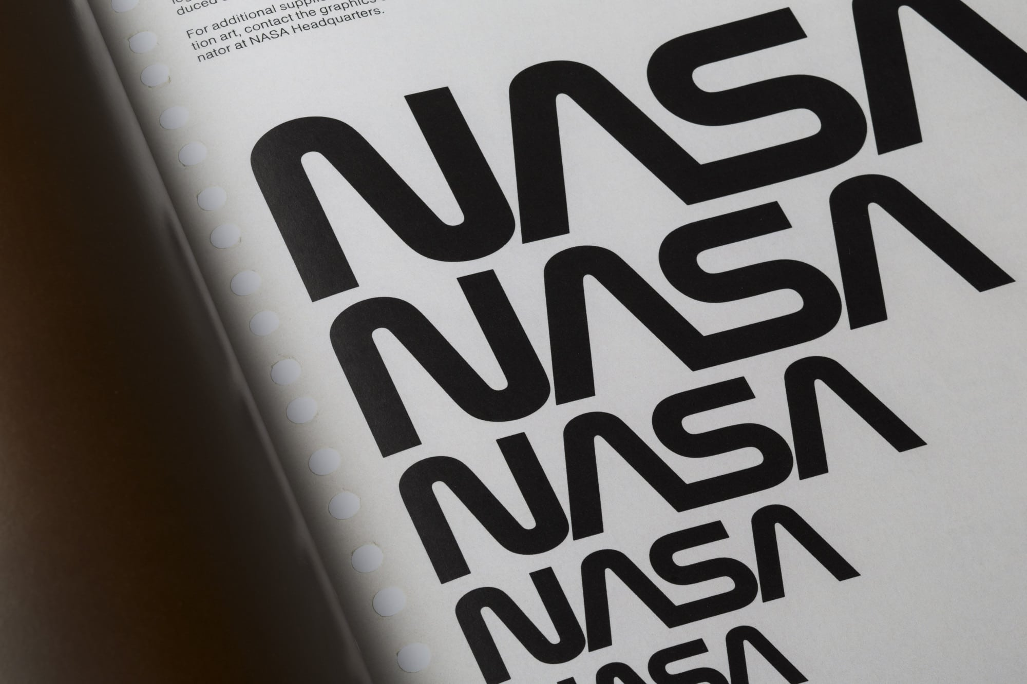 Standards Manuals- NASA Logo