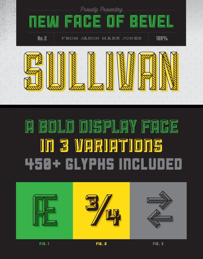 Free Hipster Font Example - Sullivan