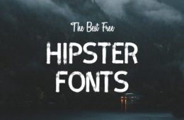 Best Free Hipster Fonts