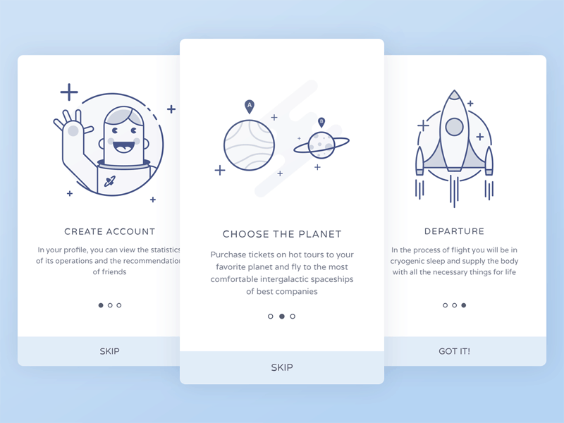 Space-onboarding