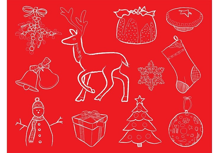 christmas-vector-illustrations