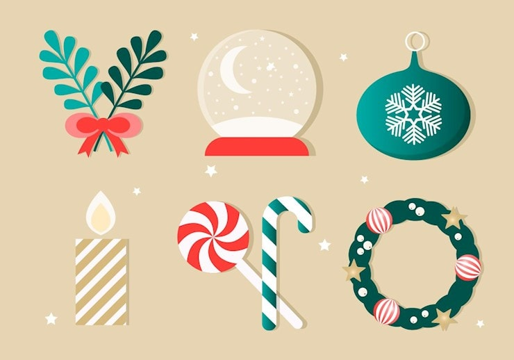 free-christmas-vector-elements
