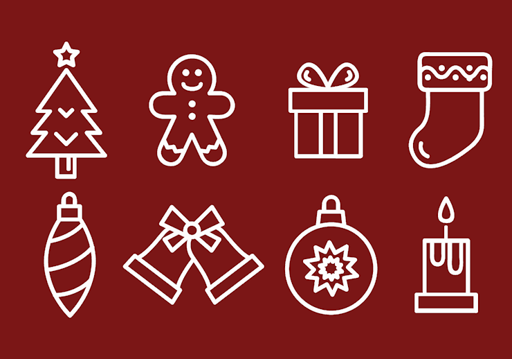 free-christmas-winter-icons-vector