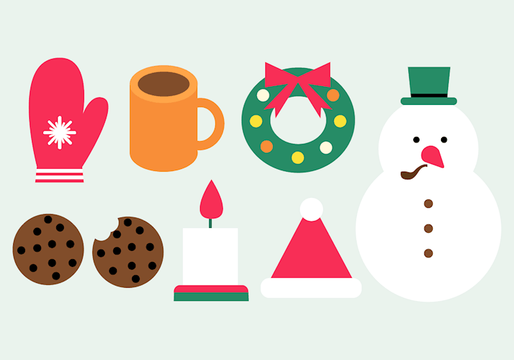 free-winter-elements-vector
