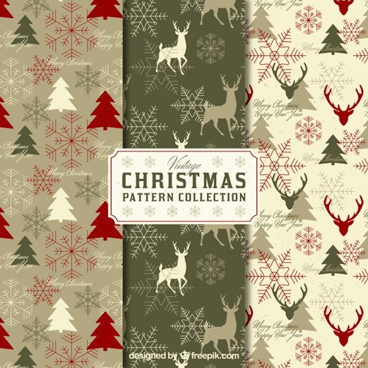 pack-of-vintage-christmas-patterns_23-2147707925
