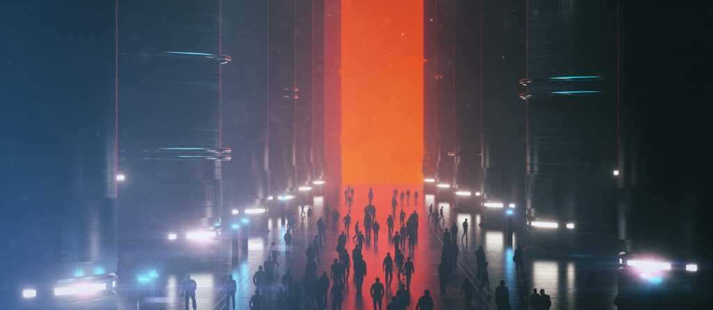 Beeple Crap Futuristic Background