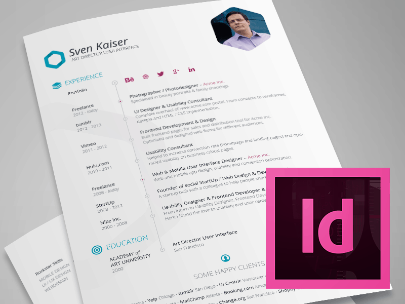 Free Resume Template by taptapideas