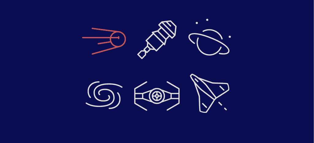 Infinity Space Icon Set