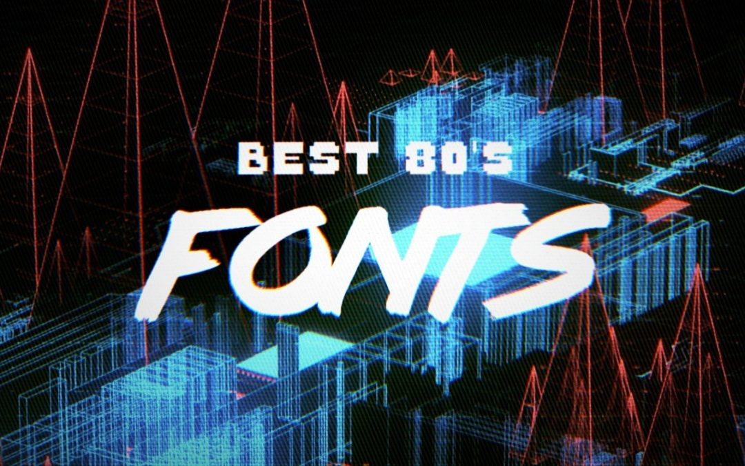 10 Best Free 80's Fonts