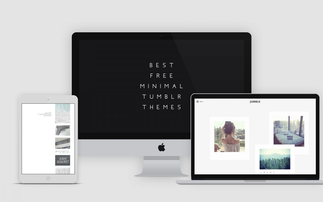 60+ Best Free Minimal Tumblr Themes 2019