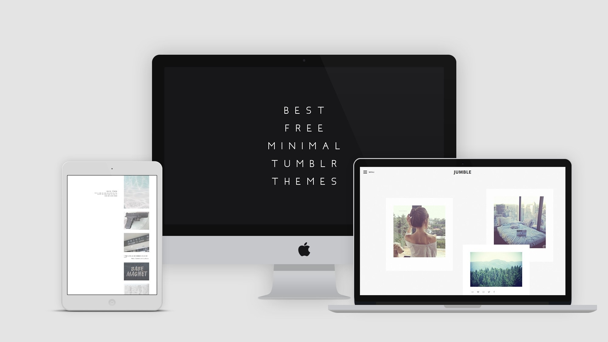 Modern Sleek Design 16 Best Free Minimal Tumblr Themes Hipsthetic