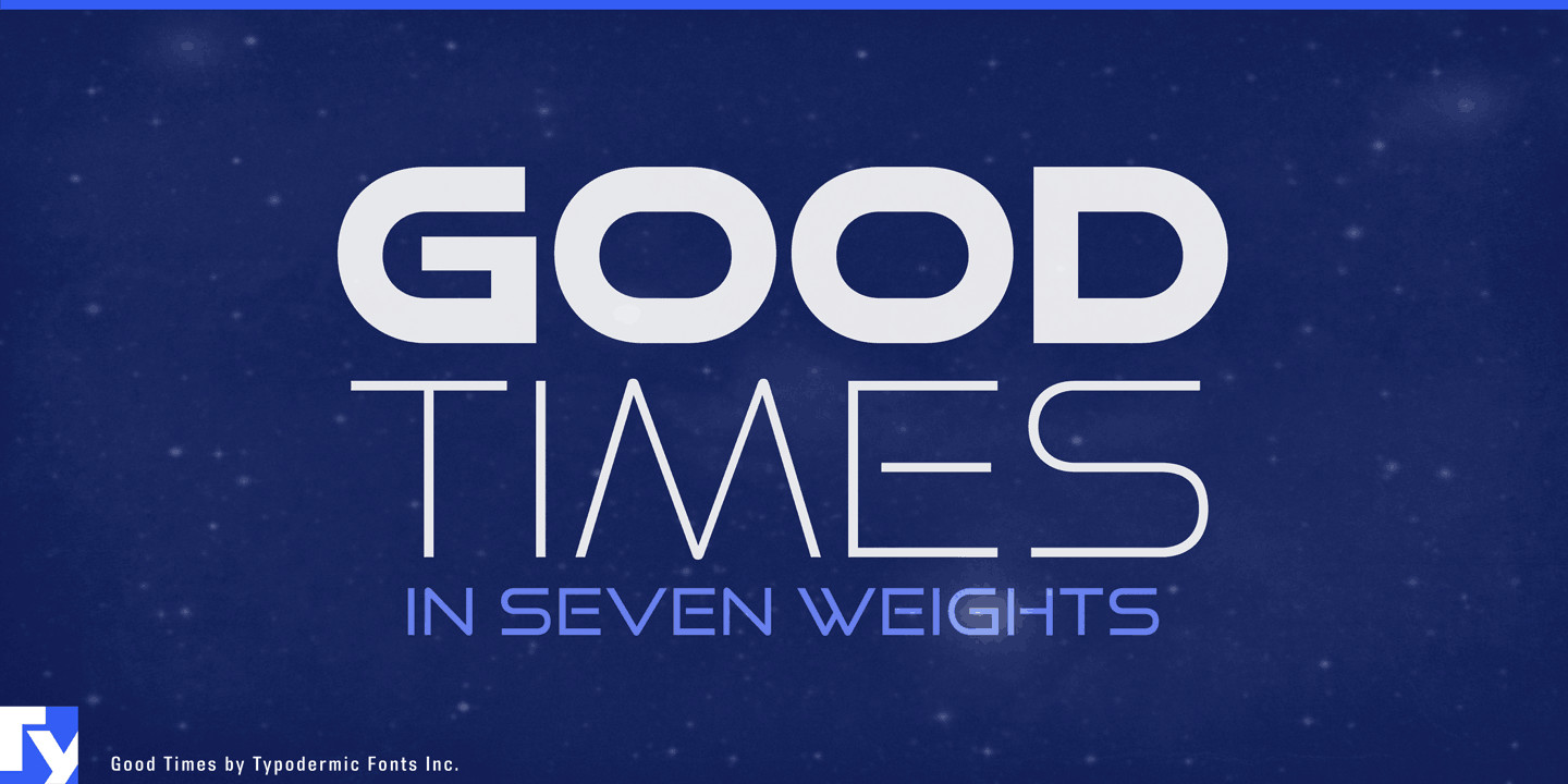Good Time Free 80's Fonts